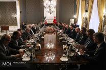 مراسم استقبال رسمی از رییس جمهور ترکیه