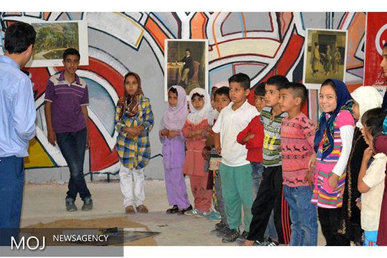 موزه ملک در سه مرکز نگهداری کودکان خاص، کارگاه موزهای برگزار کرد