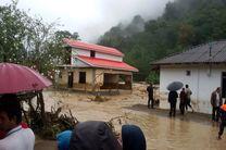 بالا آمدن آب 11 رودخانه شهرستان تالش/   وصل گاز  340 خانوار روستاهای تالش توسط نیروهای امدادی گاز