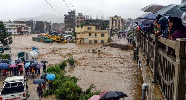 ۲۲ نفر به دنبال جاری شدن سیل در هند کشته شدند