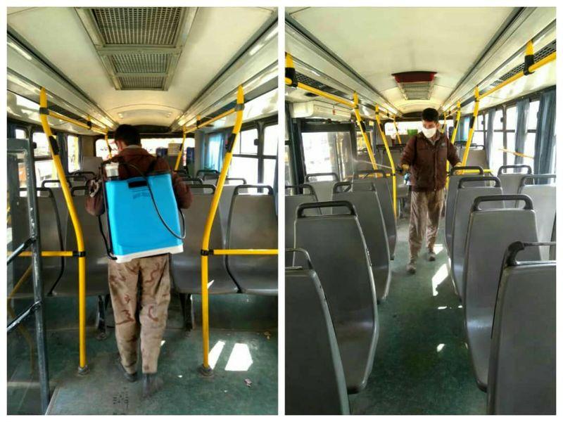 اتوبوسهای شهری کرمانشاه روزانه 30 هزار نفر را جابجا میکنند