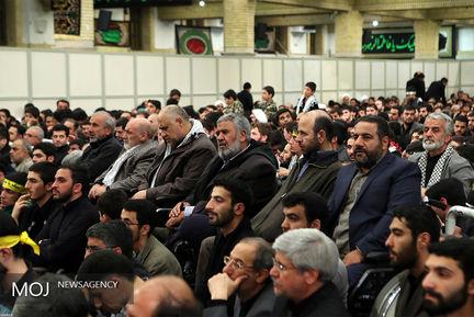 اولین شب مراسم عزاداری حضرت فاطمه زهرا/رهبری