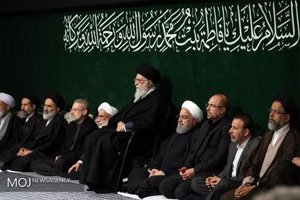 پنجمین شب عزاداری ایام فاطمیه با حضور مقام معظم رهبری