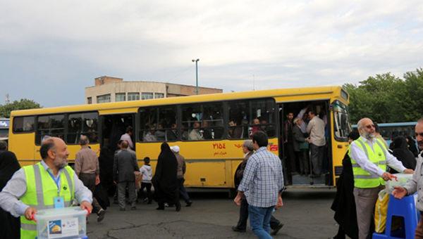خدمات رسانی به نمازگزاران عید سعید فطر با 400 دستگاه اتوبوس درون شهری