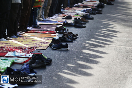اقامه نماز عید فطر در تبریز
