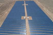بهره برداری از نیروگاه خورشیدی ۱۰ مگاواتی کوشک یزد در پیک بار تابستان 1400