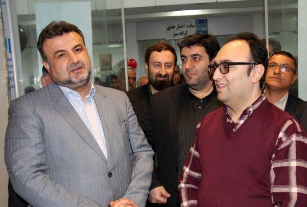 اولین نمایشگاه مطبوعات غرب استان مازندران افتتاح شد