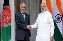 افزایش حمایت نظامی هند از افغانستان