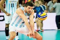 کونته امتیاز آورترین بازیکن دیدار ایران و آرژانتین بود