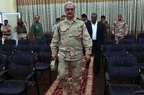ژنرال حفتر دولت وفاق ملی و مجلس لیبی را برسمیت نمی شناسد