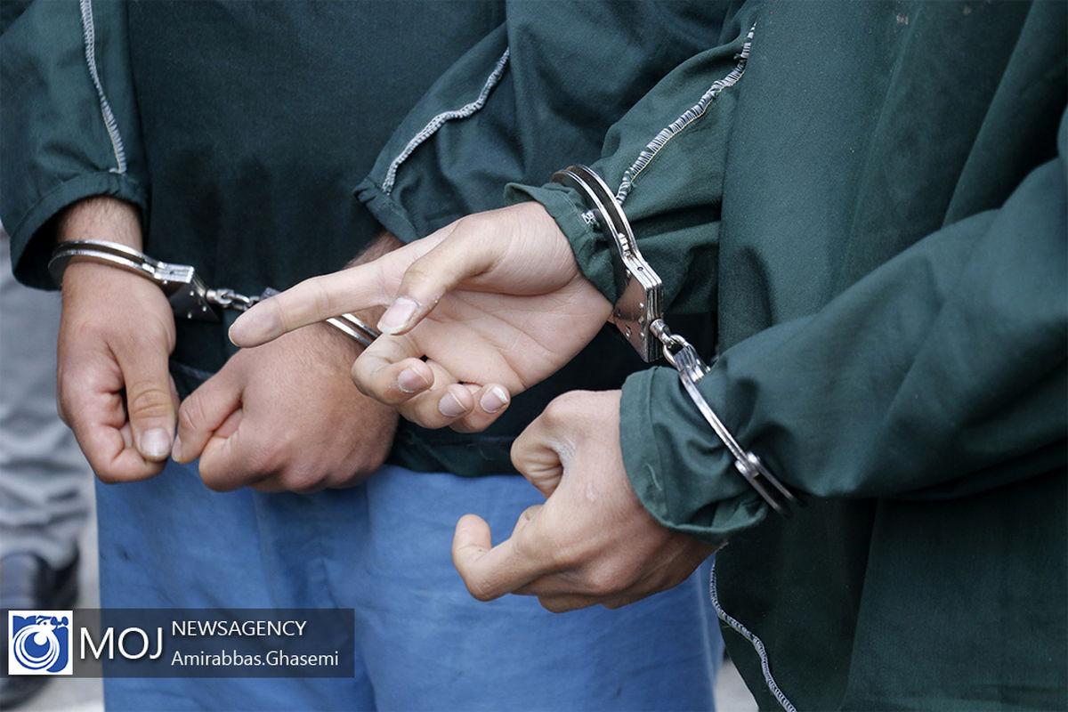 دستگیری 2 سارقان منازل نیمه ساز در تیران وکرون