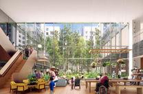 مرکز خرید جنگلی در سنگاپور + تصاویر