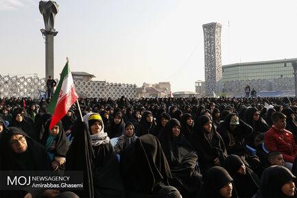 تجمع بزرگ «دختران انقلاب»