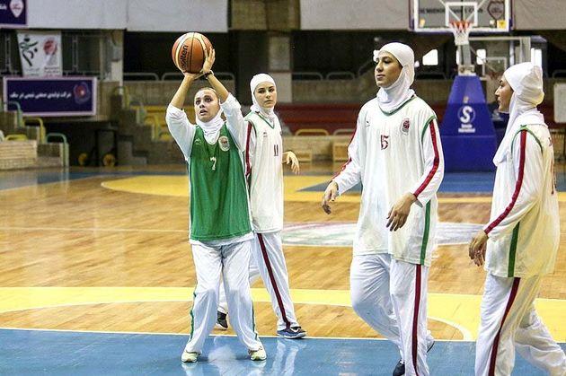 اردوی تدارکاتی تیمهای ملی بسکتبال بانوان نوجوان برگزار می شود