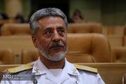 نیروی دریایی ارتش آمادگی دارد کشتی آدریان دریا را اسکورت کند