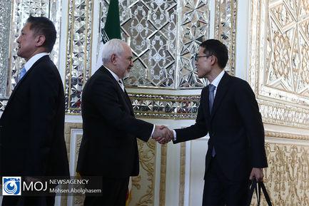 دیدار وزیر خارجه ژاپن با ظریف
