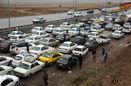 ترافیک سنگین در 6 محور مواصلاتی/ هوای 14 استان برفی و بارانی است