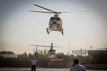 حادثه در محور چالوس/مصدومان با بالگرد اورژانس منتقل شدند