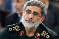 فرمانده کل ارتش انتصاب سردار قاآنی را تبریک گفت