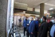 بازدید وزیرکشور از نمایشگاه نقش وزارت کشور در دفاع مقدس