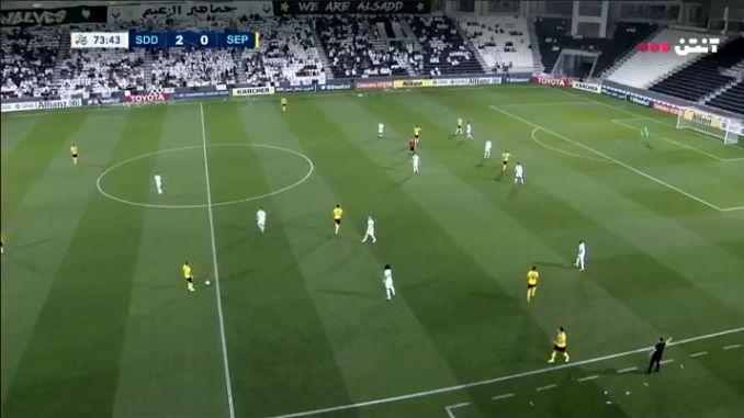 گزارش بازی السد و سپاهان/ السد 3 سپاهان 0