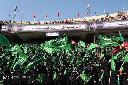 اجتماع بزرگ بسیجیان با حضور مقام معظم رهبری