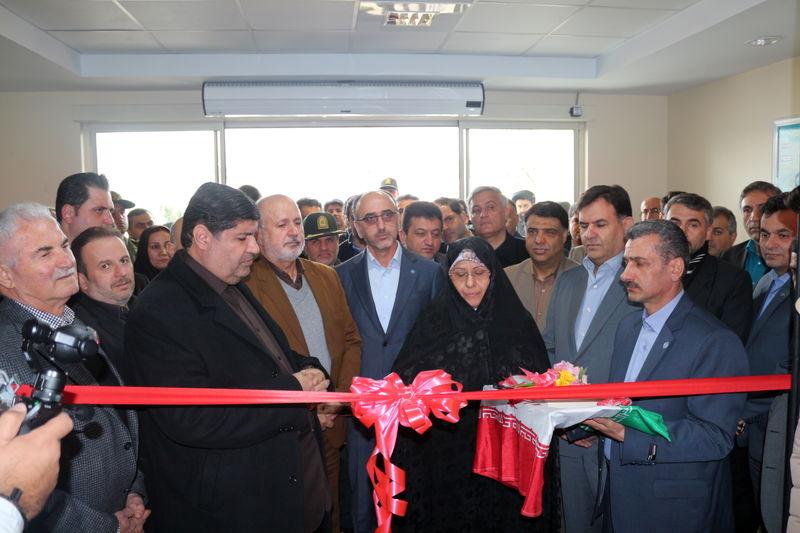 افتتاح ساختمان جدید شعبه تامین اجتماعی در  بندرانزلی