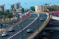 ساخت تقاطع غیر هم سطح در چهار نقطه بندرعباس