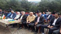افتتاح پروژه خط انتقال آب به شهرک تاریخی ماسوله