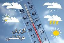 کاهش قابل ملاحظه دما، وزش باد و بارندگی شدید در گیلان