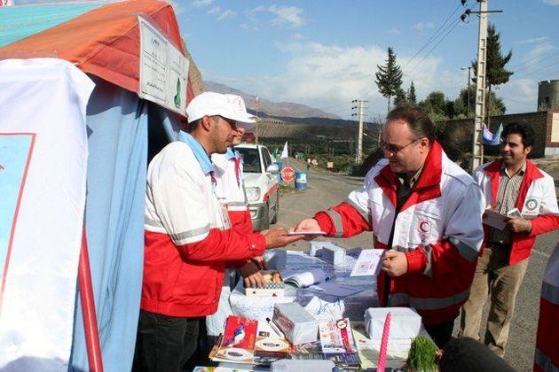 ستاد امداد و نجات نوروزی پاکدشت تا پایان تعطیلات فعال است