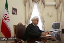 روحانی به رئیس جمهور چین تبریک گفت