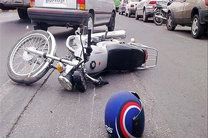 47 درصد مصدومان تصادفات درونشهری در کاشان موتورسیکلت سواران هستند