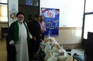 اجرای طرح دستهای مهربانی توسط اداره اوقاف شهرستان مینودشت