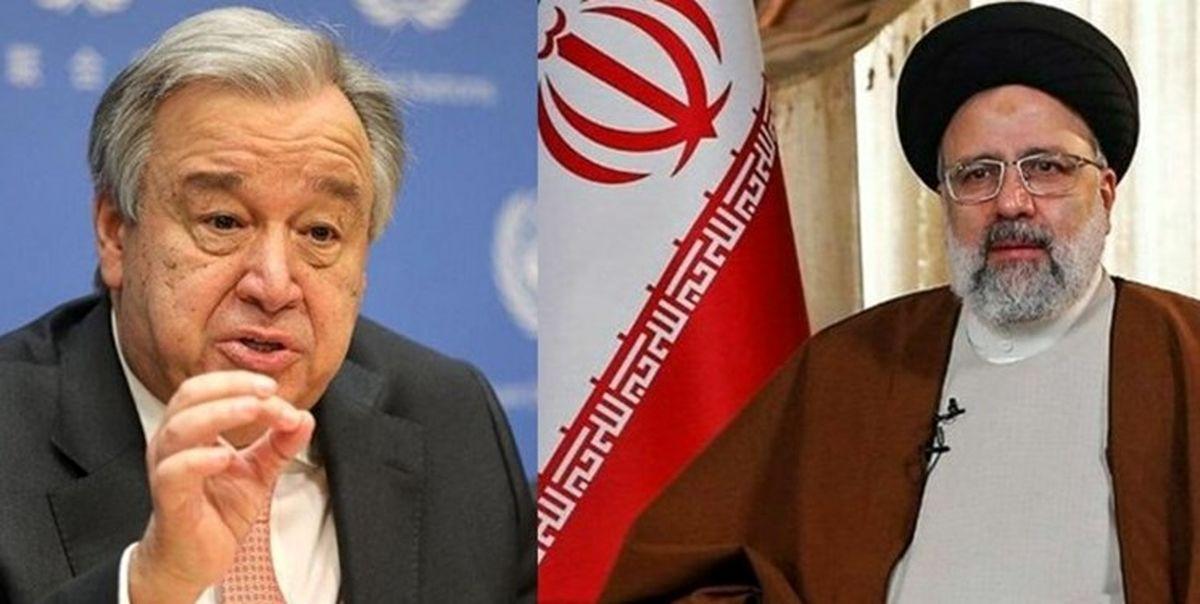 سازمان ملل متحد علاقمند به کار با دولت جدید تحت رهبری شما است