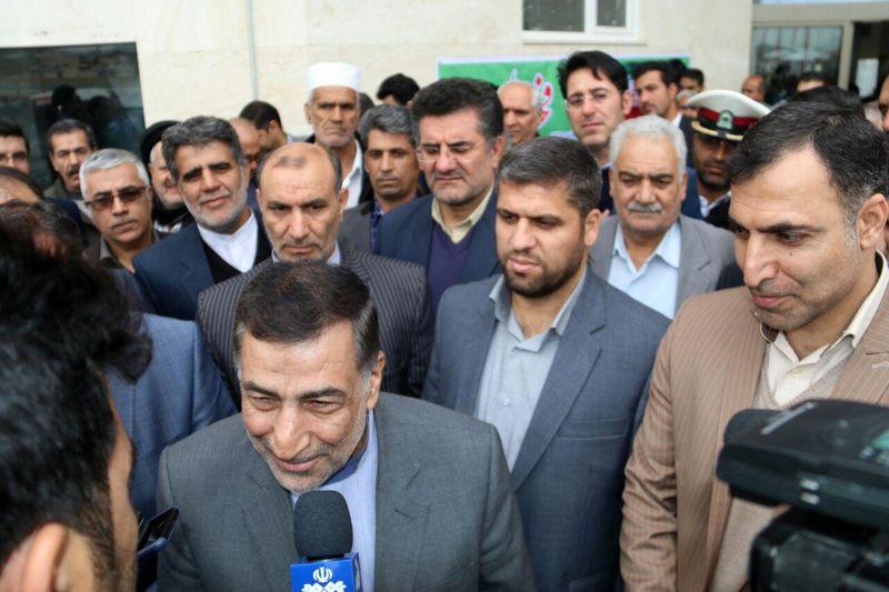 پایانه مسافربری برون استانی خرم آباد با حضور وزیر دادگستری به بهره برداری رسید