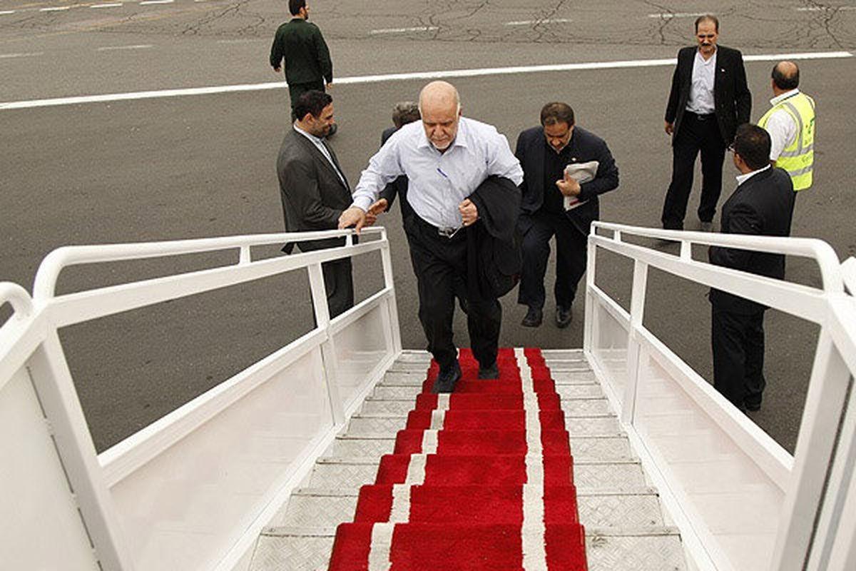 وزیر نفت به مسکو رفت
