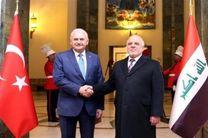 نخست وزیر عراق با همتای ترکیهای درباره همهپرسی کردستان عراق گفتوگو کرد