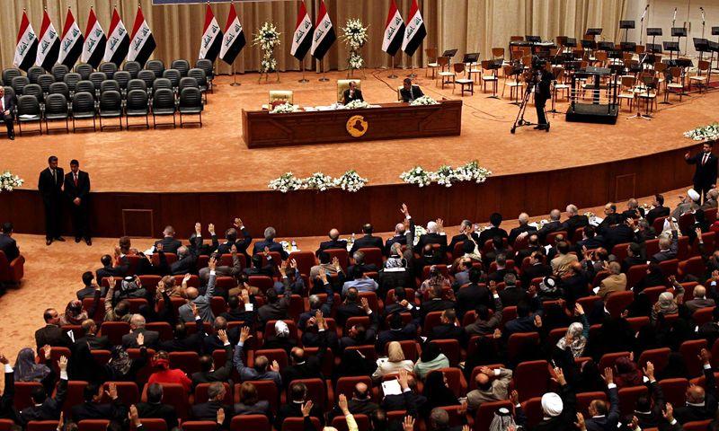 پارلمان عراق برافراشتن پرچم اسرائیل را عمل مجرمانه اعلام کرد