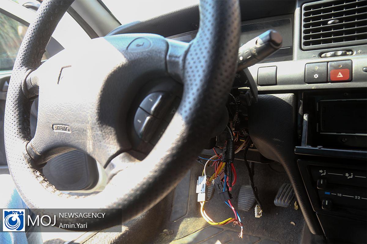 دستگیری سارق و کشف خودرو سرقتی در بهار