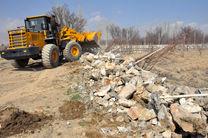 ۸ هزار متر مربع از اراضی ملی در میناب رفع تصرف شد