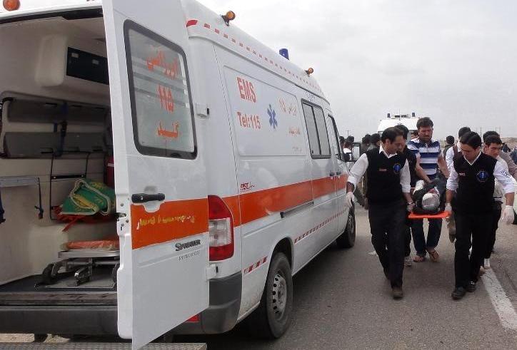 یک سوم عملیات های اورژانس اصفهان مربوط به تصادفات است
