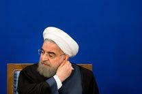 روحانی به سؤالات خبرنگاران درباره عملکرد 4 ساله خود پاسخ نداد
