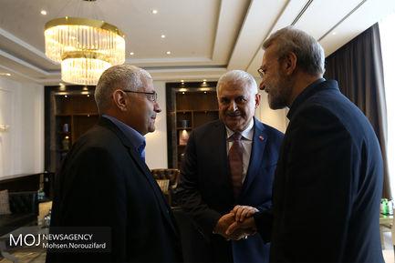 سفر علی لاریجانی به ترکیه