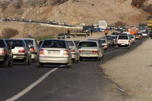 کاهش 13 درصدی تردد در راه های برون شهری