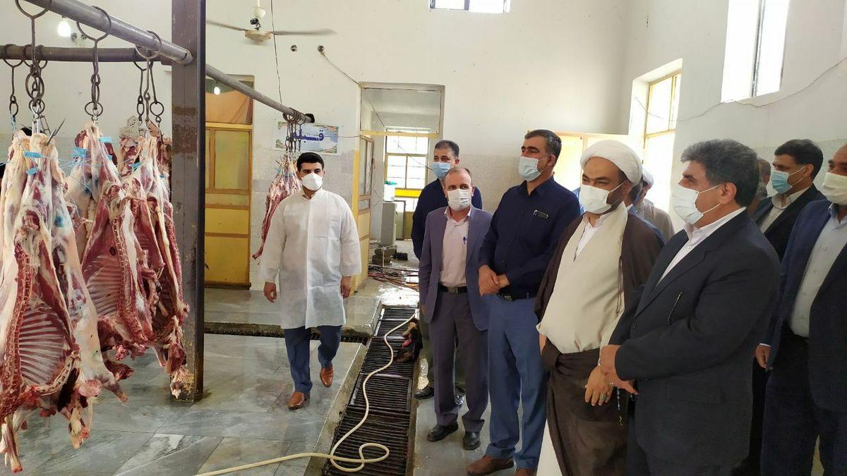 تحویل و اهدای 1100 رأس دام قربانی به قربانگاه های کمیته امداد استان ایلام