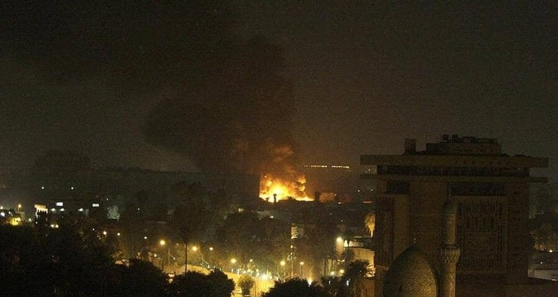 جزئیات سقوط موشک در نزدیکی سفارت آمریکا در بغداد