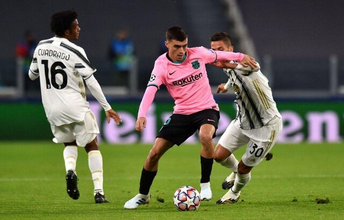 نتیجه بازی یوونتوس و بارسلونا/پیروزی بارسلونا در غیاب رونالدو