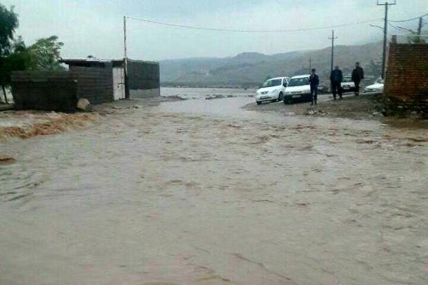 آخرین وضعیت مناطق سیل زده شهرستان آق قلا