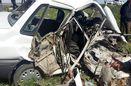 برجای گذاشتن یک کشته و یک مصدوم در حادثه تصادف در محور مراوه تپه